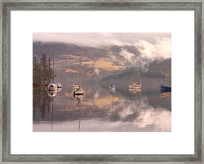 Morning Reflections Of Loch Ness Framed Print