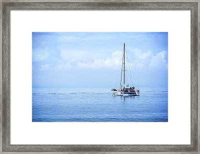 Morning Sail Framed Print by James Hammond