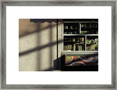Morning Shadows Framed Print