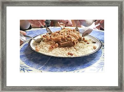 Moroccan Tagine Framed Print by Tom Gowanlock