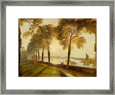 Mortlake Terrace Framed Print