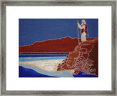 Moses And The Red Sea Framed Print by Daniel Henning