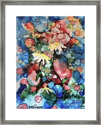 Framed Print featuring the painting Mothers Day by Denise Tomasura