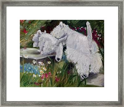 Mother's Day Framed Print by Mary Sparrow