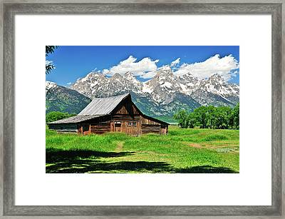 Moulton Barn Framed Print