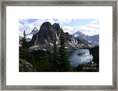 Mount Assiniboine Canada 8 Framed Print