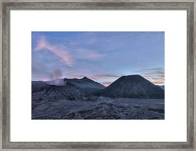 Mount Bromo - Java Framed Print