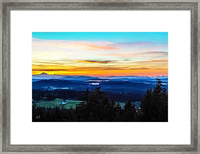 Mount Grant Framed Print by Thomas Ashcraft