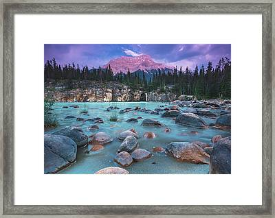 Mount Kerkeslin Framed Print by Cale Best