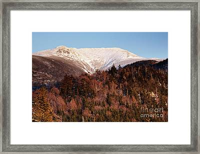 Mount Lafayette - White Mountains New Hampshire Usa Framed Print by Erin Paul Donovan