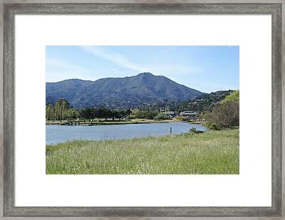 Mount Tamalpais Framed Print