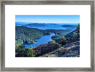 Mountain Lake Framed Print