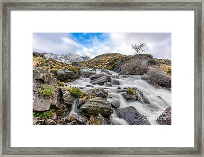 Mountain River Framed Print by Adrian Evans