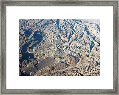 Mountains In Baloschistan  Framed Print by Richard Wareham