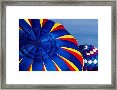 Mountains Of Color Framed Print by Teri Virbickis