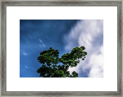 Movement In The Skies Framed Print by Shelby Young