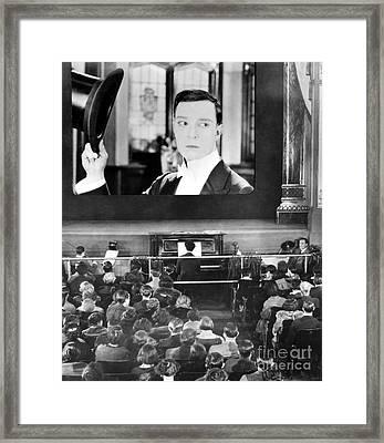 Movie Theater, 1920s Framed Print by Granger