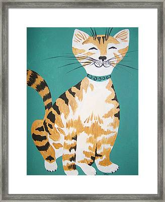 Mr. Tabby Framed Print