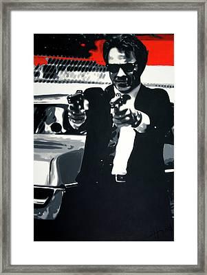 Mr White Framed Print