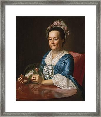 Mrs. John Winthrop Framed Print