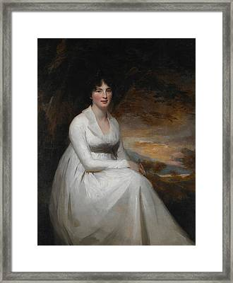 Mrs. Macdowall Framed Print by Henry Raeburn
