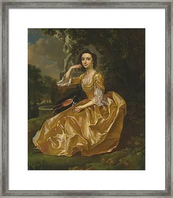 Mrs. Mary Chauncey Framed Print