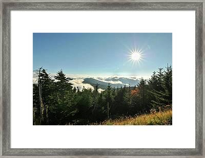 Mt Mitchell Landscape Framed Print