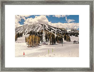 Mt. Rose Framed Print