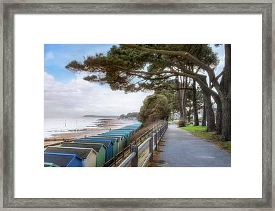 Mudeford - England Framed Print