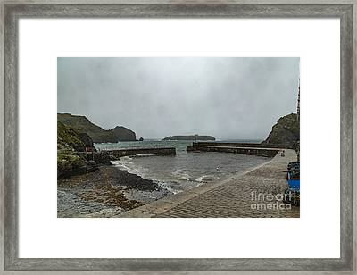 Mullion Cove Framed Print