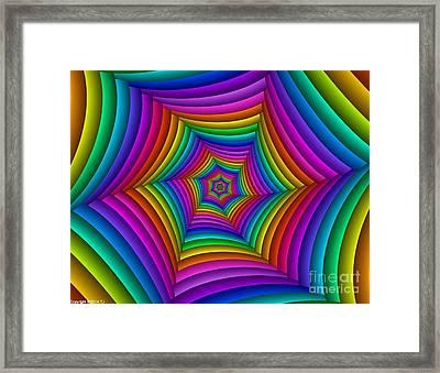 Multichrome  11 Framed Print