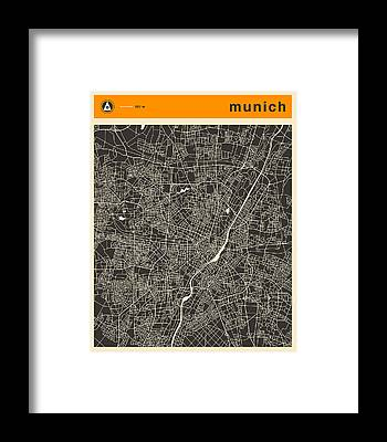 Munich Framed Prints