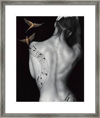 Muse-ic Framed Print by Pat Erickson