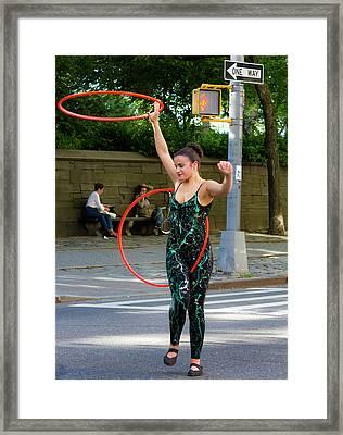Museum Mile Nyc 6_14_16 Dancer Framed Print