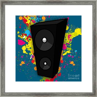 Musical Framed Print by Marvin Blaine