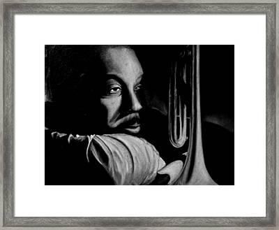 Musical Muse Framed Print