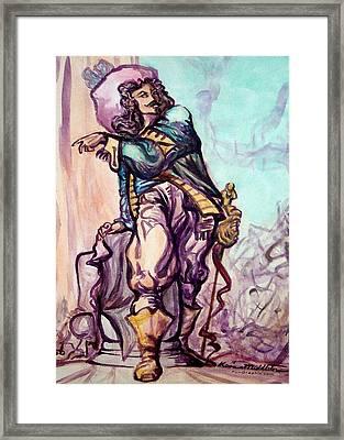 Musketeer Framed Print by Kevin Middleton