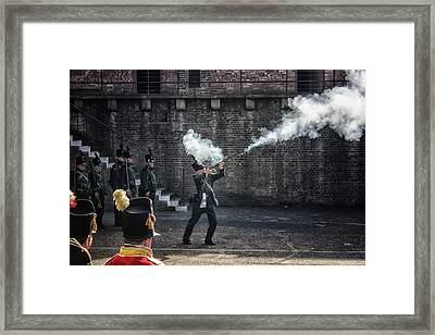 Musketman Framed Print by Martin Newman
