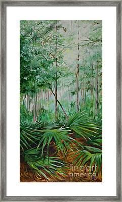My Backyard Framed Print by Michele Hollister - for Nancy Asbell