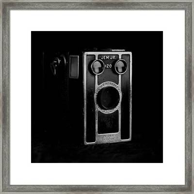 Framed Print featuring the photograph My Dad's Camera by Jeremy Lavender Photography