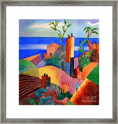My Dream Vacation Framed Print