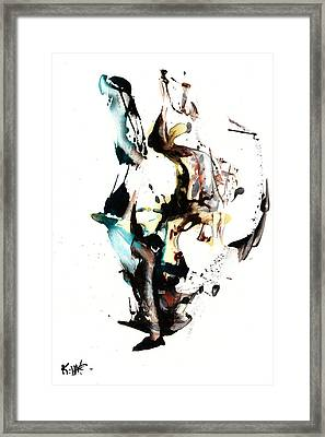 My Form Of Jazz Series 10064.102909 Framed Print by Kris Haas