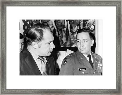 My Lai Massacre Inquiry Framed Print
