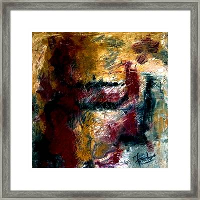 My Solace  Framed Print by Fareeha Khawaja