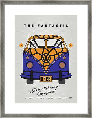 My Superhero-vw-t1-the Thing Framed Print by Chungkong Art