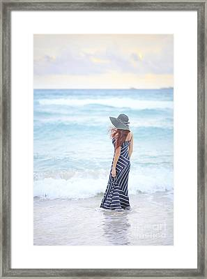 Mystic And Divine Framed Print by Evelina Kremsdorf