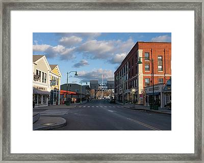 Framed Print featuring the photograph Mystic Connecticut by Kirkodd Photography Of New England
