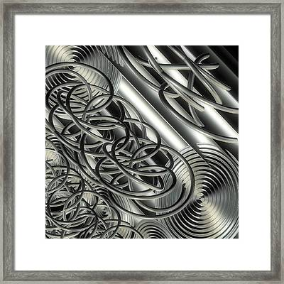 Mythic Context Framed Print by Michele Caporaso