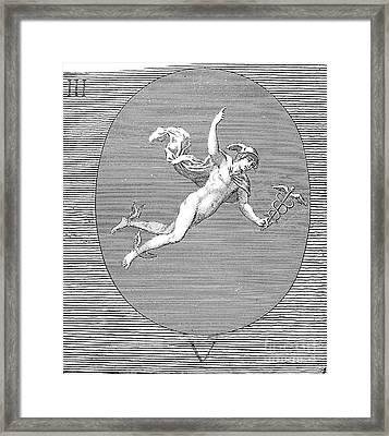 Mythology: Hermes Framed Print