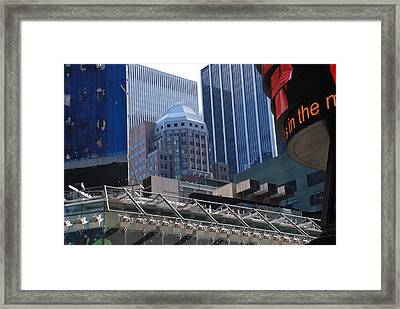 N Y C Architecture Framed Print by Rob Hans